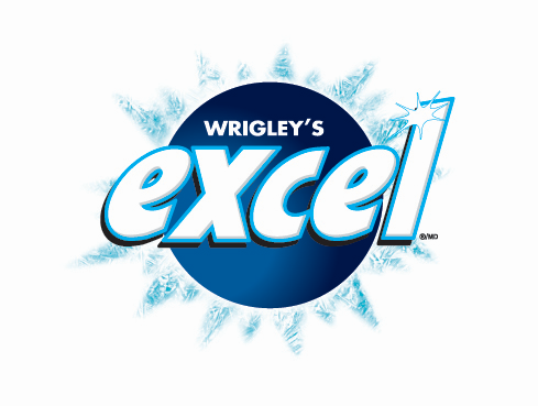 Excel Chlorophyll 12pc 12's - Gum - Wrigley - Tevan Enterprises Confectionary