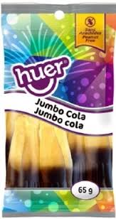 Huer Pocket Pals Jumbo Cola 12/65g, Candy, Huer, [variant_title] - Tevan Enterprises