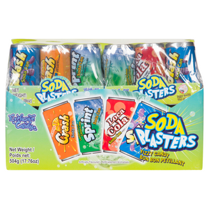 Exclusive Brands Soda Blasters Fizzy Candy 42g 12's, Candy, Exclusive Candy, [variant_title] - Tevan Enterprises