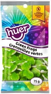 Huer Pocket Pals Green Frog 12/75g