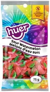 Huer Pocket Pals Sour Watermelon 12/75g