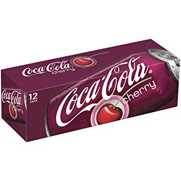 Cherry Coca Cola Original 12/355ml, Beverages, Coca Cola, [variant_title] - Tevan Enterprises