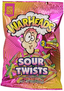 Warheads Sour Twists 15s - Candy - Exclusive Candy - Tevan Enterprises Confectionary