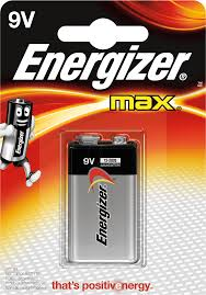 Energizer Max 9V battery - Batteries - Classy Imports - Tevan Enterprises Confectionary