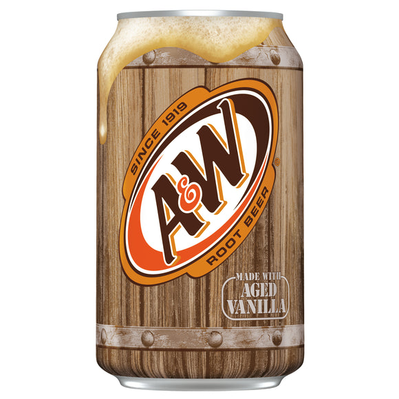 A&W Vanilla Root Beer 12/355ml - Beverages - Dr Pepper - Tevan Enterprises Confectionary