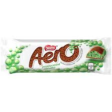 Aero Mint 41g 24's, Chocolate and Chocolate Bars, Nestle, [variant_title] - Tevan Enterprises