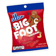 Allans Big Foot Original 120g 12s, Candy, Hershey's, [variant_title] - Tevan Enterprises