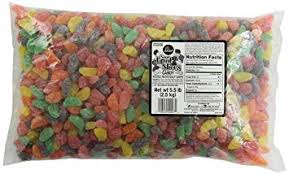 Allans Sour Fruit Slices bulk 2.5kg bag - Bulk Candy - Hershey's - Tevan Enterprises Confectionary