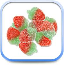 Allans Wild Strawberry bulk 2.5kg, - Bulk Candy - Hershey's - Tevan Enterprises Confectionary