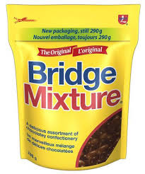 Bridge Mixture Peg Top 290g 12's - Chocolate and Chocolate Bars - Hershey's - Tevan Enterprises Confectionary