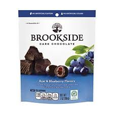 Brookside Dark Acai Blueberry 90g 10's - Chocolate and Chocolate Bars - Hershey's - Tevan Enterprises Confectionary