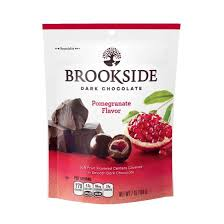 Brookside Dark Pomegranate 90g 10's - Chocolate and Chocolate Bars - Hershey's - Tevan Enterprises Confectionary