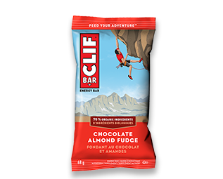 Clif Chocolate Almond Fudge 68g x 12's