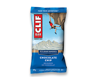 Clif Chocolate Chip Bar 68g 12's