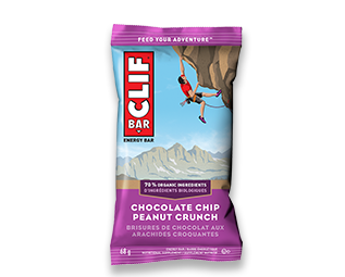 Clif Chocolate Chip Peanut Crunch Bar 68g 12's