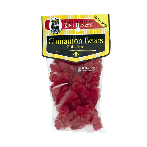 King Henry Cinnamon Bears, Snacks, King Henry, [variant_title] - Tevan Enterprises