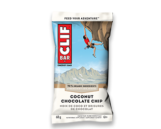 Clif Coconut Chocolate Chip Bar 68g x 12's