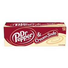 Dr Pepper Cream Soda 12/355ml