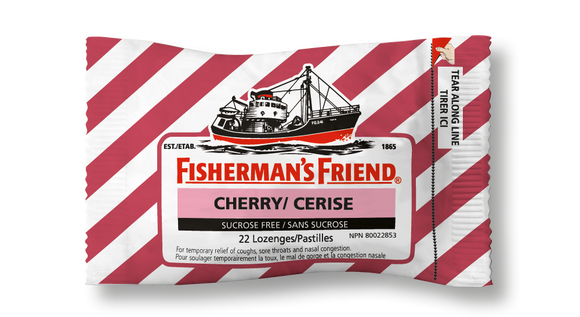 Fishermans Friends Cherry 16's
