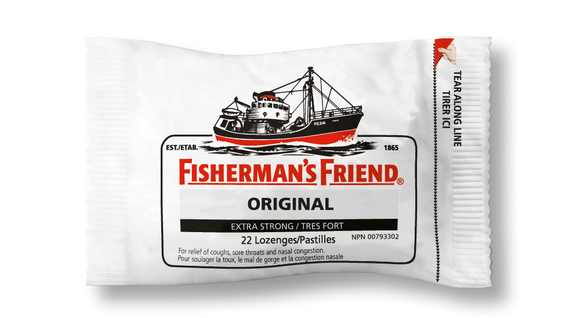 Fishermans Friends Original Extra Strong (White) 16's