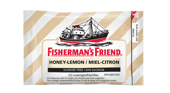 Fishermans Friends Honey Lemon 16's