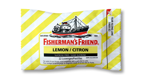 Fishermans Friends Lemon 12's