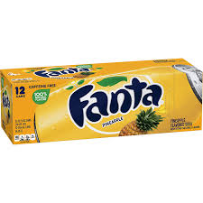Fanta Pineapple 12/355ml