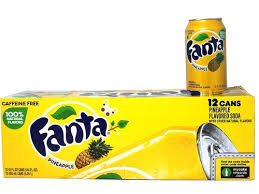 Fanta Pineapple 12/355ml, Beverage, Tevan Enterprises Ltd., [variant_title] - Tevan Enterprises