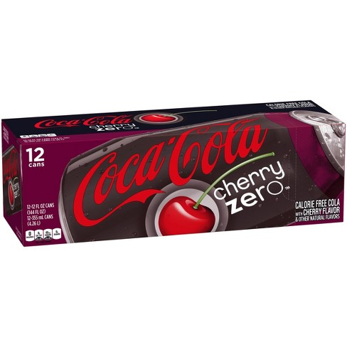 Cherry Coca Cola Zero 12/355ml, Beverages, Coca Cola, [variant_title] - Tevan Enterprises