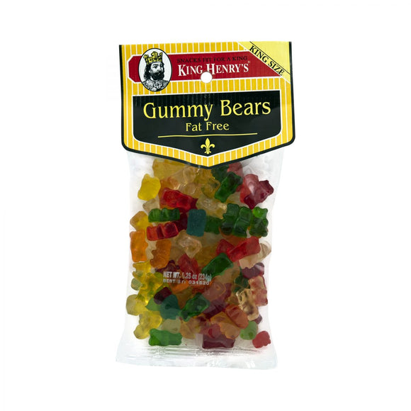 King Henry Gummy Bears, Snacks, King Henry, [variant_title] - Tevan Enterprises