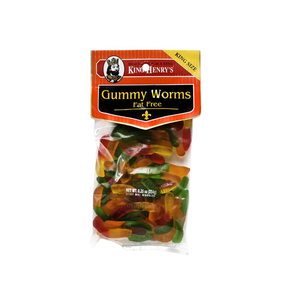 King Henry Gummy Worms