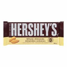 Hershey Almond Family Bar 100g x 14, Chocolate and Chocolate Bars, Hershey's, [variant_title] - Tevan Enterprises