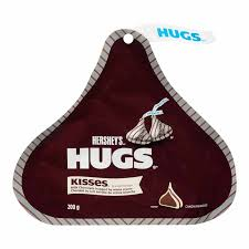 Hershey Hugs 200g 12s - Chocolate and Chocolate Bars - Hershey's - Tevan Enterprises Confectionary