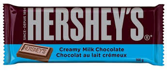 Hershey Milk Family Bar 100g 14 bars/case - Chocolate and Chocolate Bars - Hershey's - Tevan Enterprises Confectionary