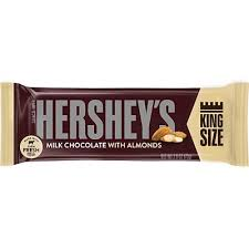 Hershey Whole Almond King Size 65g 18s, Chocolate and Chocolate Bars, Hershey's, [variant_title] - Tevan Enterprises