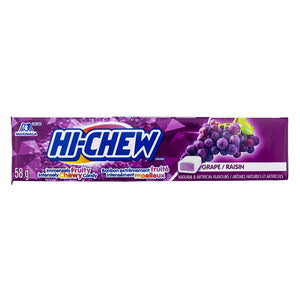 Hi Chew Fruit Chews Grape 58g 12's, Candy, Tosuta, [variant_title] - Tevan Enterprises