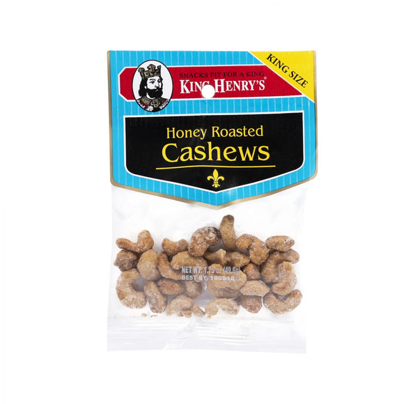 King Henry Honey Roasted Cashews