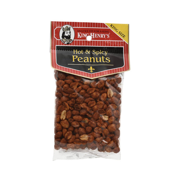 King Henry Hot & Spicy Peanuts 234g 12's, Snacks, King Henry, [variant_title] - Tevan Enterprises
