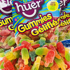 Huer Ice Pop Gummy bulk candy 1kg bag, Bulk Candy, Huer, [variant_title] - Tevan Enterprises