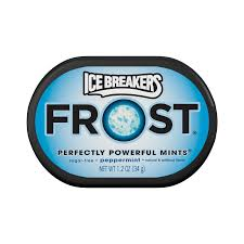 Ice Breakers Frost Peppermint 34g 6's - Mints - Hershey's - Tevan Enterprises Confectionary