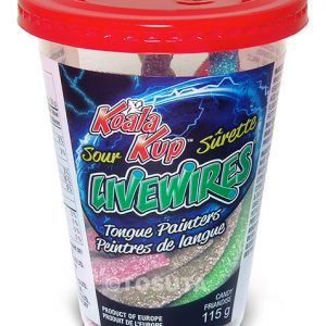 Koala Live Wire Sour Tongue Painter Kup 115g 12s, Candy, Tosuta, [variant_title] - Tevan Enterprises