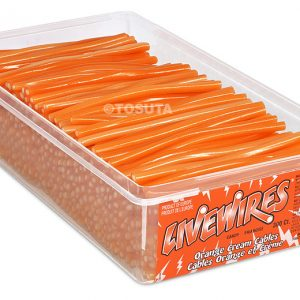 Livewire Cables - Orange 6g, 300's - Candy - Tosuta - Tevan Enterprises Confectionary