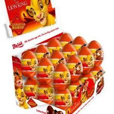 Regal Lion King Chocolate Eggs 20g, 24's