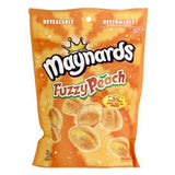 Maynards Large Bags Fuzzy Peach 355g, 12 per box - Candy - Mondelez (Cadbury) - Tevan Enterprises Confectionary