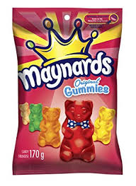 Maynards original Gummies 170g 12's, Candy, Mondelez (Cadbury), [variant_title] - Tevan Enterprises