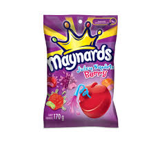 Maynards juicy squirts berry 170g 12's - Candy - Mondelez (Cadbury) - Tevan Enterprises Confectionary