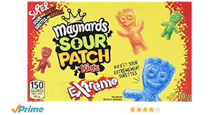 Maynards sour patch kids 100g 12s, Candy, Mondelez (Cadbury), [variant_title] - Tevan Enterprises
