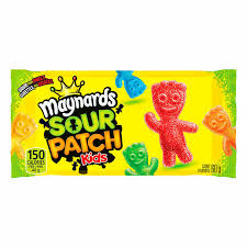 Maynards Sour Patch Kids Singles 60g 18's, Candy, Mondelez (Cadbury), [variant_title] - Tevan Enterprises