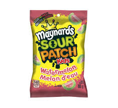 Maynards Sour Patch Kids Watermelon 12/180g, Candy, Mondelez (Cadbury), [variant_title] - Tevan Enterprises