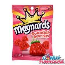 Maynards Swedish Berries 185g 12's, Candy, Mondelez (Cadbury), [variant_title] - Tevan Enterprises